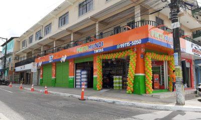 Franquia Pinta Mundi Tintas inaugura primeira loja em Camaçari