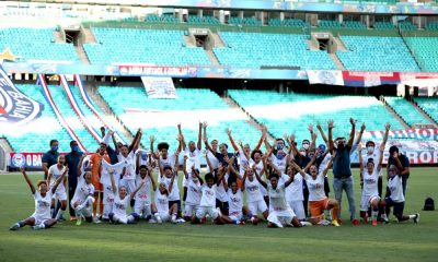 Bahia conquista vaga na primeira divisão do Campeonato Brasileiro Feminino