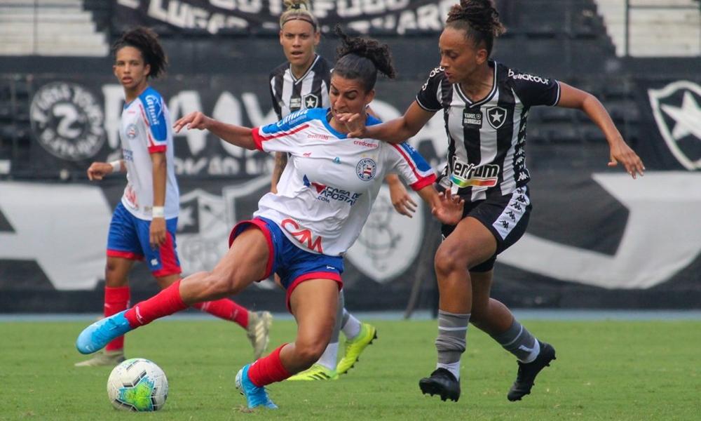 Brasileiro Feminino: Bahia empata primeiro jogo das semifinais e fará decisão em casa