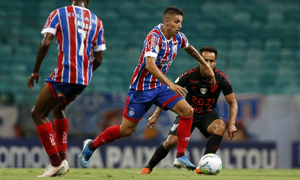 Guerra: após seca de dois meses sem vencer, Bahia bate Athletico-PR na Fonte Nova