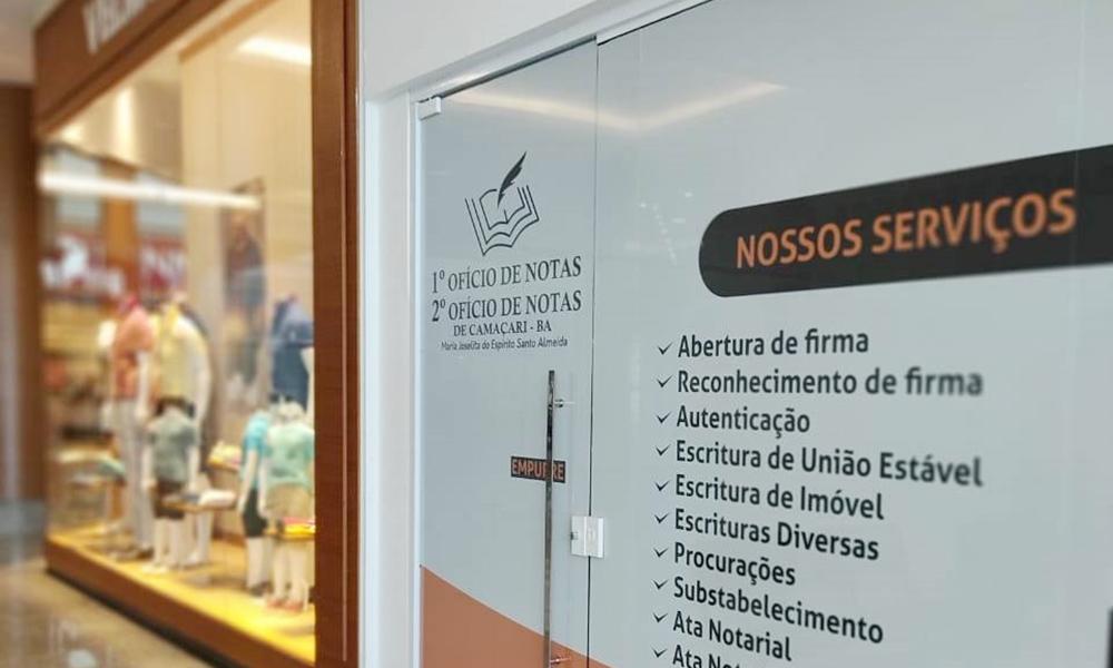 Cartórios do Ofício de Notas de Camaçari são transferidos para o Boulevard Shopping