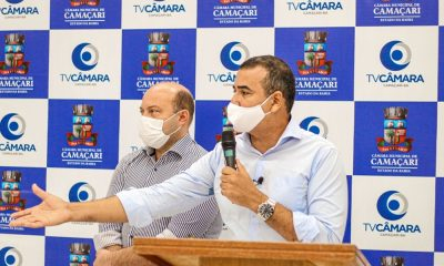Junior Borges eleva nível de relação institucional entre Câmara e imprensa em Camaçari