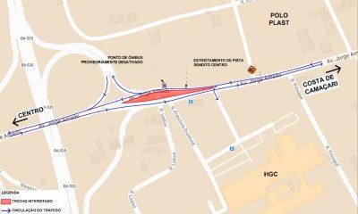 Via será interditada na região do Viaduto do Trabalhador a partir de quarta-feira