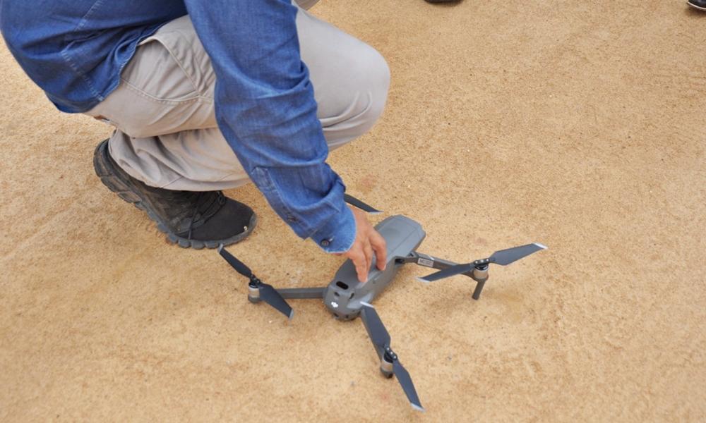 Sedur realiza macromapeamento aéreo em regiões da sede e orla