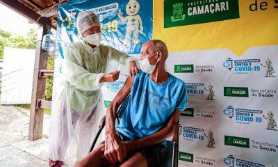 Vacinômetro: 1.610 pessoas receberam segunda dose em Camaçari