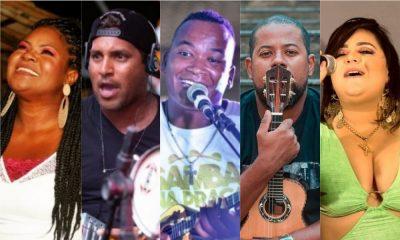 Músicos do samba camaçariense promovem live show neste fim de semana