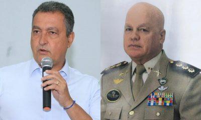 Governador anuncia Paulo Coutinho como novo comandante-geral da PMBA