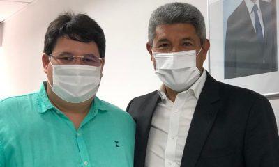 Tagner se reúne com secretário de Educação da Bahia e articula ações para Camaçari