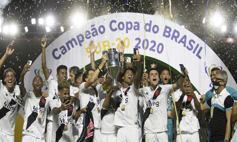 Bahia empata com o Vasco e perde título da Copa do Brasil Sub-20