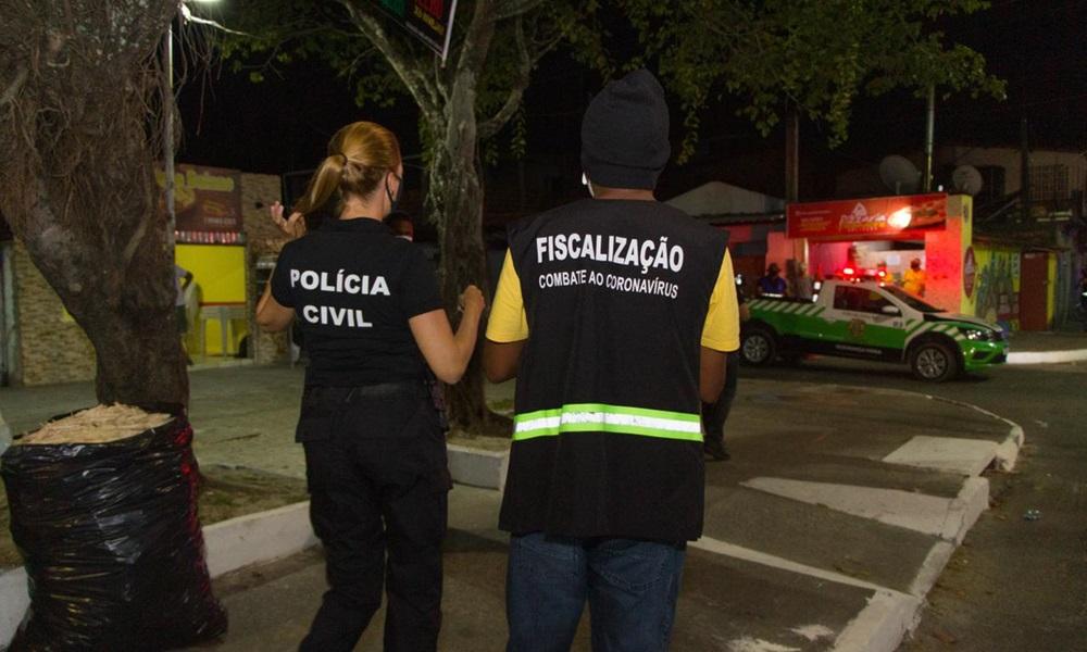 Toque de recolher: 13 pessoas foram autuadas pelo descumprimento