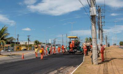 Bloqueio parcial da Avenida Jorge Amado é suspenso