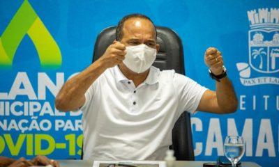 Elinaldo anuncia planejamento para reabertura do comércio em Camaçari