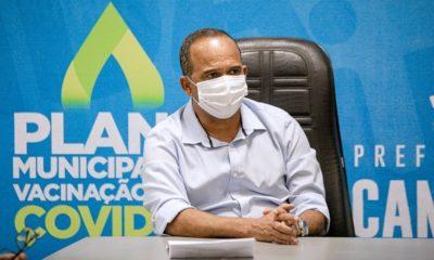 Elinaldo pede renovação do estado de calamidade pública em Camaçari até o fim do ano