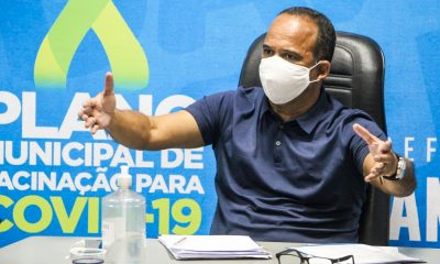 Projeto de lei que autoriza Camaçari a comprar vacinas contra Covid-19 é enviado à Câmara
