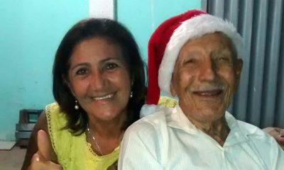 Pai da vereadora Fafá, Seu Senhorinho morre aos 96 anos