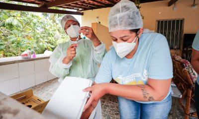 Vacinômetro: 4.924 pessoas estão vacinadas contra Covid-19 em Camaçari