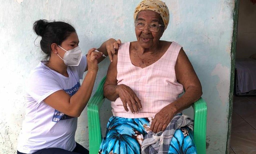 Dias d'Ávila segue com vacinação contra Covid-19 nesta segunda-feira