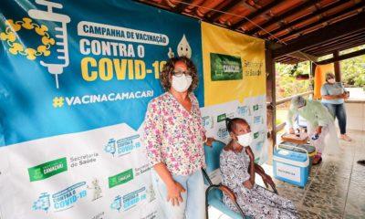 Vacinômetro: 1.233 pessoas já foram vacinadas com a segunda dose contra Covid-19