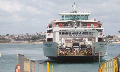 Ferry-Boat reduz horário de embarque por conta do toque de recolher