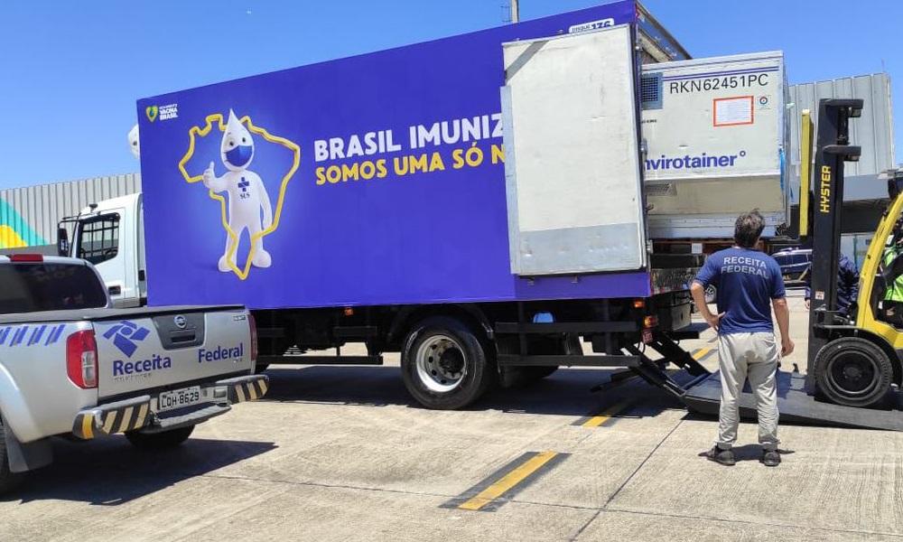 Bahia recebe 208.700 novas doses de vacinas contra o coronavírus nesta quarta-feira