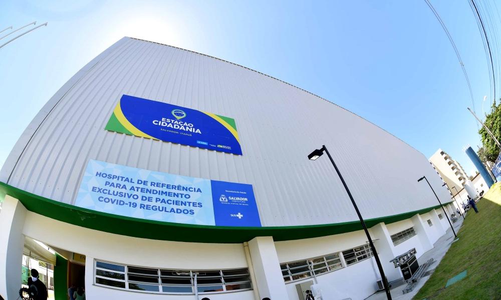 Hospital de campanha na Estação Cidadania Itapuã é entregue hoje