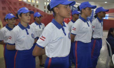Escolas com vetor disciplinar militar estão com inscrições abertas para 490 novos alunos