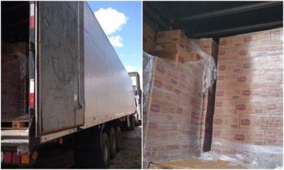 Dias d'Ávila: 36ª CIPM recupera carga roubada da Nestlé avaliada em R$ 319 mil