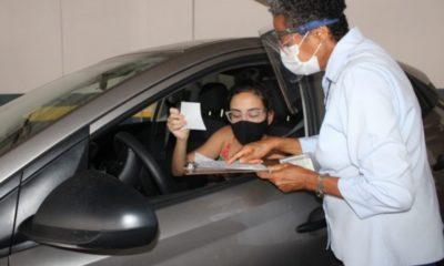 SAC entrega CNH por sistema drive-thru em Camaçari