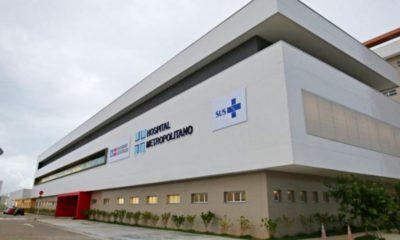 Covid-19: 40 leitos de UTI do Hospital Metropolitano são desmobilizados pelo Governo do Estado