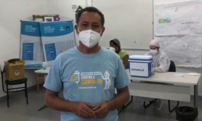 Camaçari inicia vacinação de idosos a partir de 79 anos contra Covid-19; assista ao vídeo