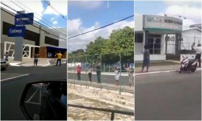 Religiosos fazem orações na UPA Gleba A, Hospital Semed e Samu; assista ao vídeo