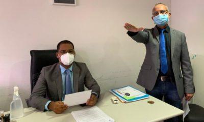 Suplente de Dr. Zé Carlos, Irmão Edvaldo toma posse na Câmara de Dias d'Ávila