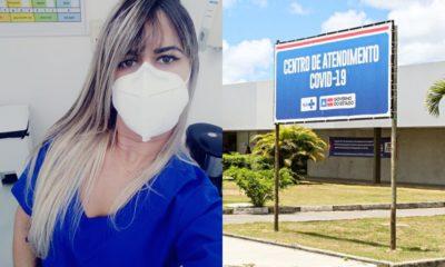 """""""Sei que muitos ainda precisam de mim, então seguirei firme"""", afirma enfermeira do HGC que atua no combate à Covid-19"""