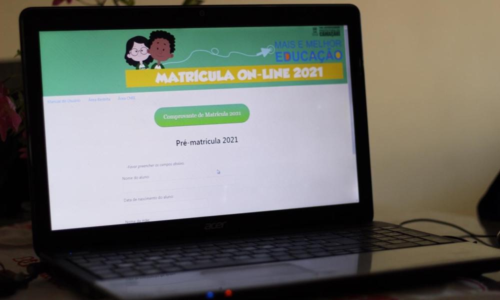 Pré-matrícula da rede municipal de ensino segue até dia 31 em Camaçari