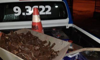 Dias d'Ávila: funcionário é preso em flagrante furtando material de empresa no Polo de Apoio