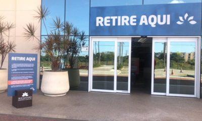 """Boulevard Camaçari mantém serviço """"Retire Aqui"""" para entrega de compras online"""
