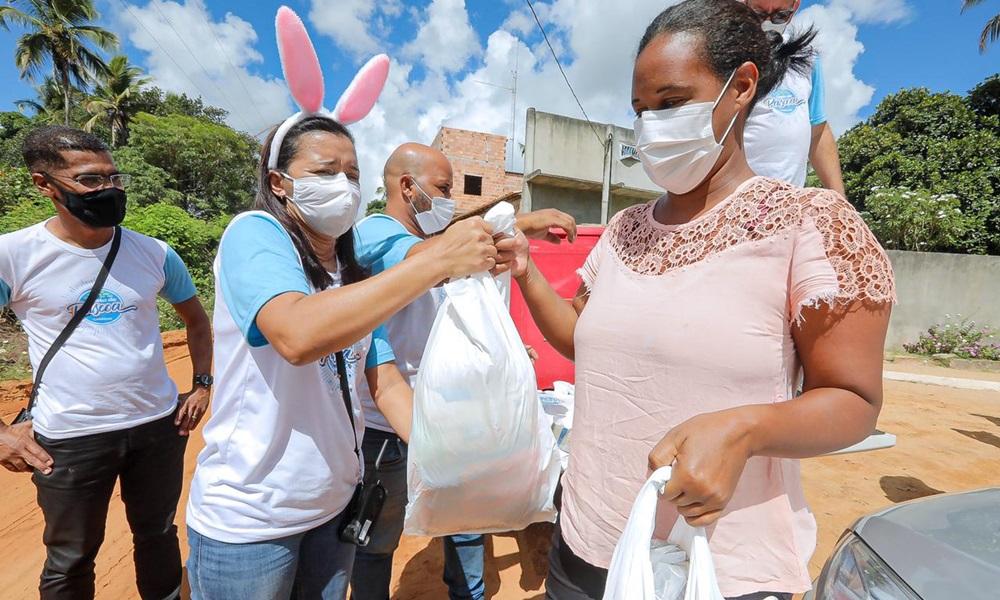Sedes inicia entrega da Cesta de Páscoa na zona rural de Camaçari