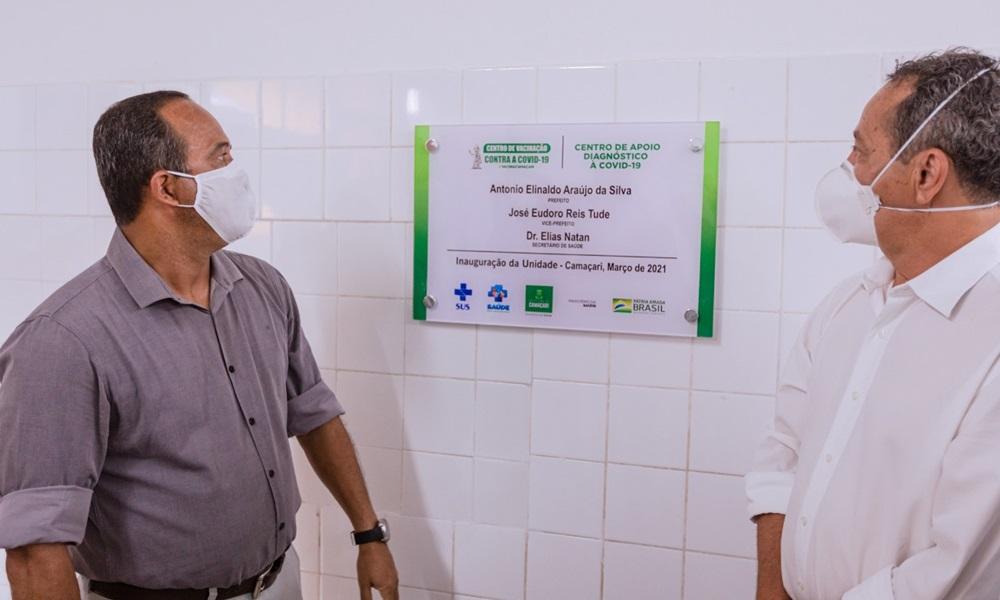 Centros de Vacinação e de Apoio e Diagnóstico à Covid-19 são inaugurados em Camaçari