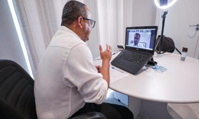 Em reunião com Rui Costa, Elinaldo propõe compra de vacina através do Consórcio da Policlínica Regional
