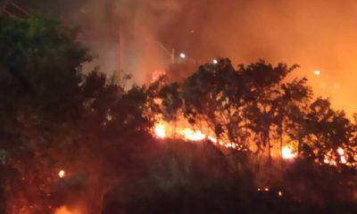 Defesa Civil de Camaçari registra cerca de 110 focos de incêndio nos três primeiros meses do ano
