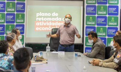 Plano de retomada da economia só será implantado quando 20% dos leitos estiverem vagos, afirma Elinaldo