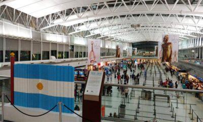 Argentina vai restringir voos do Brasil, Chile e México