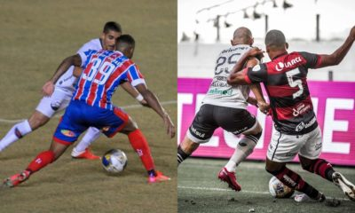 Copa do Nordeste: Bahia empata em casa e Vitória perde a primeira do ano