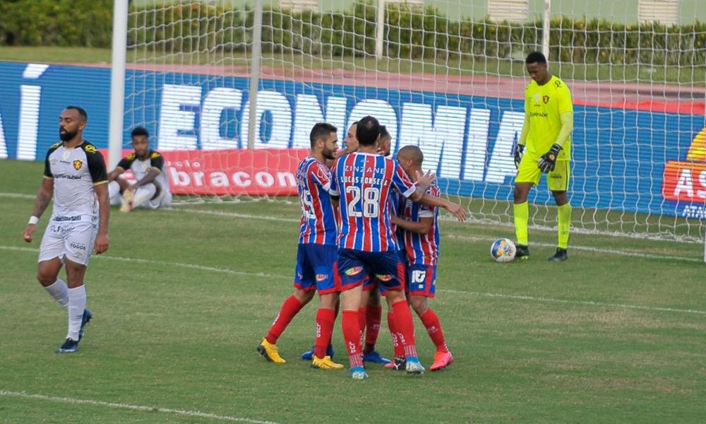 Bahia volta a vencer na Copa do Nordeste com goleada sobre o Sport Recife