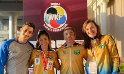 Caratê: Valéria Kumizaki é ouro na Premier League de Istambul
