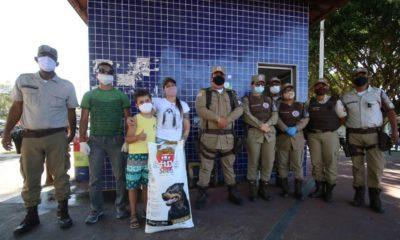 36ª CIPM inicia campanha solidária de amparo a animais abandonados em Dias d'Ávila