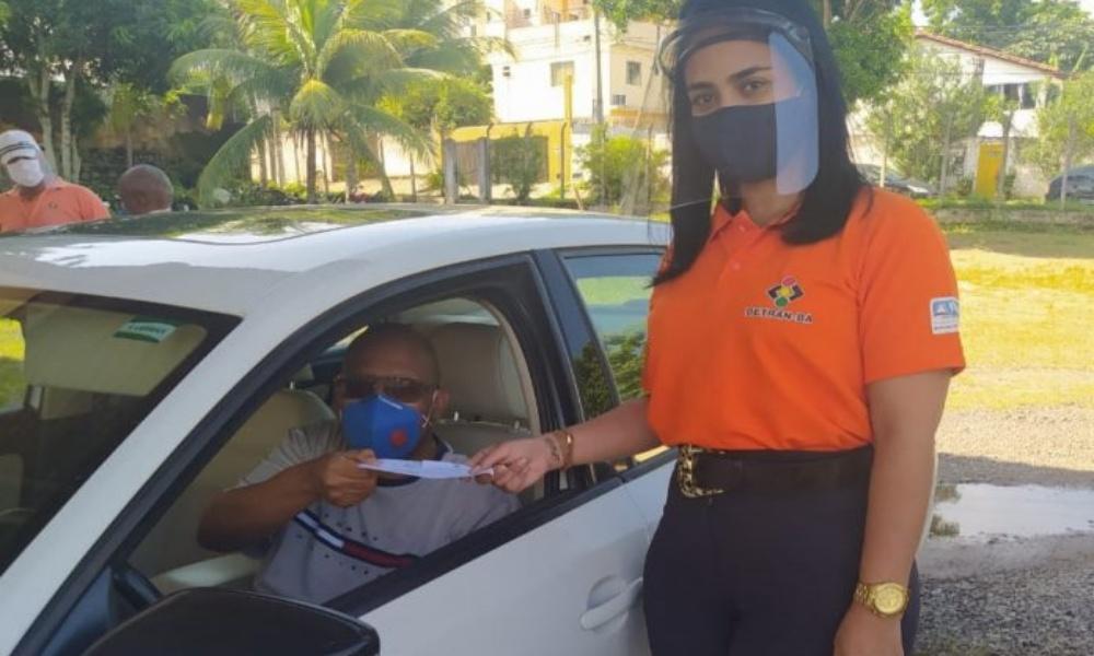 CNH será entregue em esquema drive-thru em Camaçari e Salvador