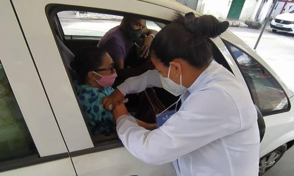 Dias d'Ávila inicia nova etapa de vacinação contra o coronavírus