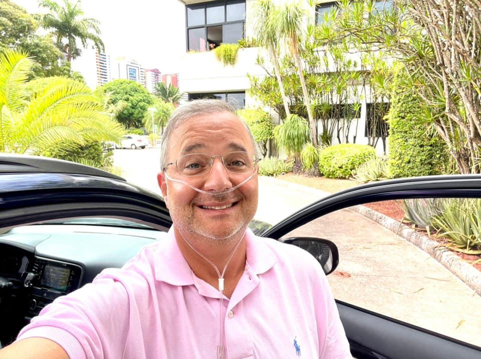 De alta, Fábio Vilas-Boas deve seguir com fisioterapia e desmame de oxigênio