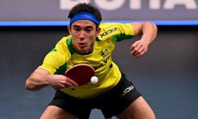 Tênis de mesa brasileiro tem terça perfeita em torneio no Catar